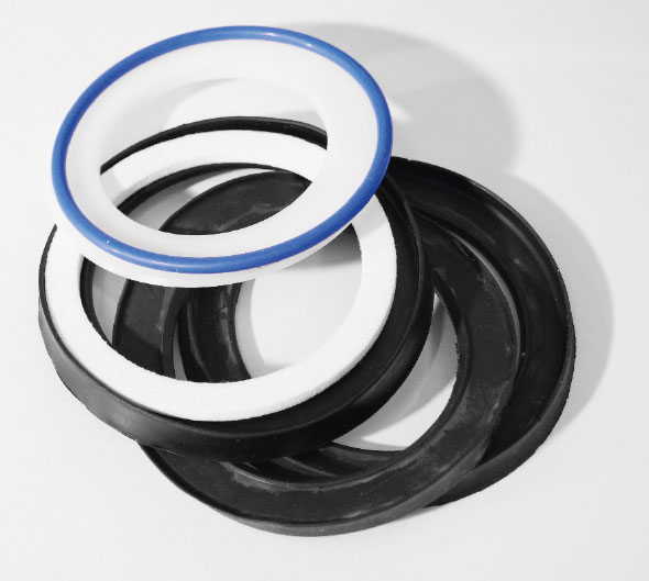 Gaskets made from different materials